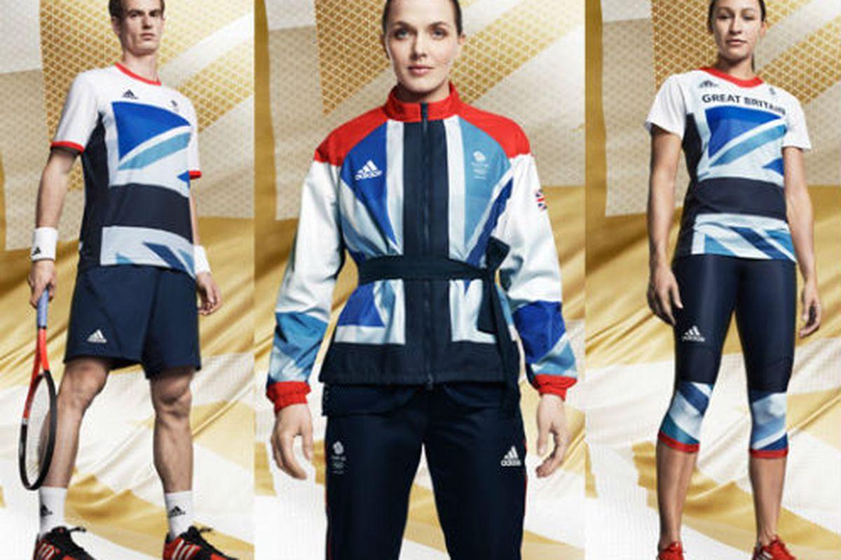 "Stella McCartney's Team GB Olympic uniforms, image via <a href=""http://fashion.telegraph.co.uk/columns/luke-leitch/TMG9160263/Stella-McCartney-unveils-the-Team-GB-Olympic-kit.html"">The Telegraph</a>"