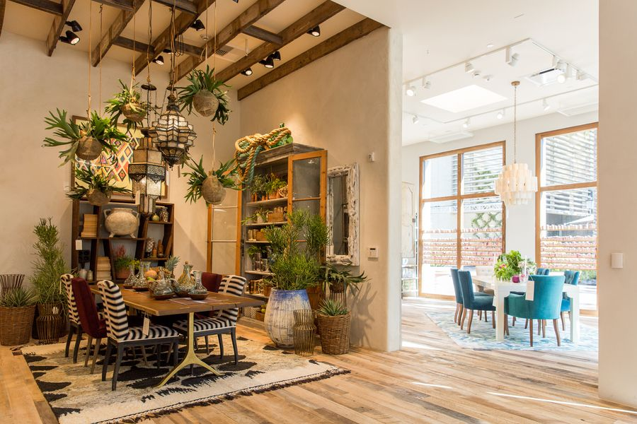 Anthropologie'S Upgraded Newport Beach Store Offers Major Home