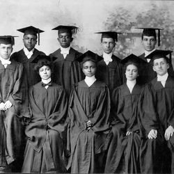 """A still from """"Tell Them We Are Rising: The Story of Black Colleges and Universities,"""" directed by Stanley Nelson."""