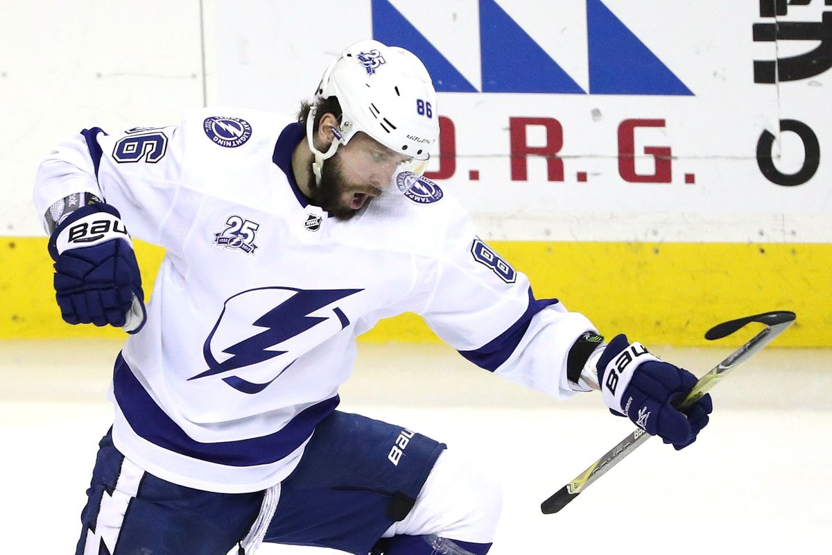 Tampa Bay Lightning re-sign Nikita Kucherov to an eight-year contract  extension - Raw Charge a7757845879