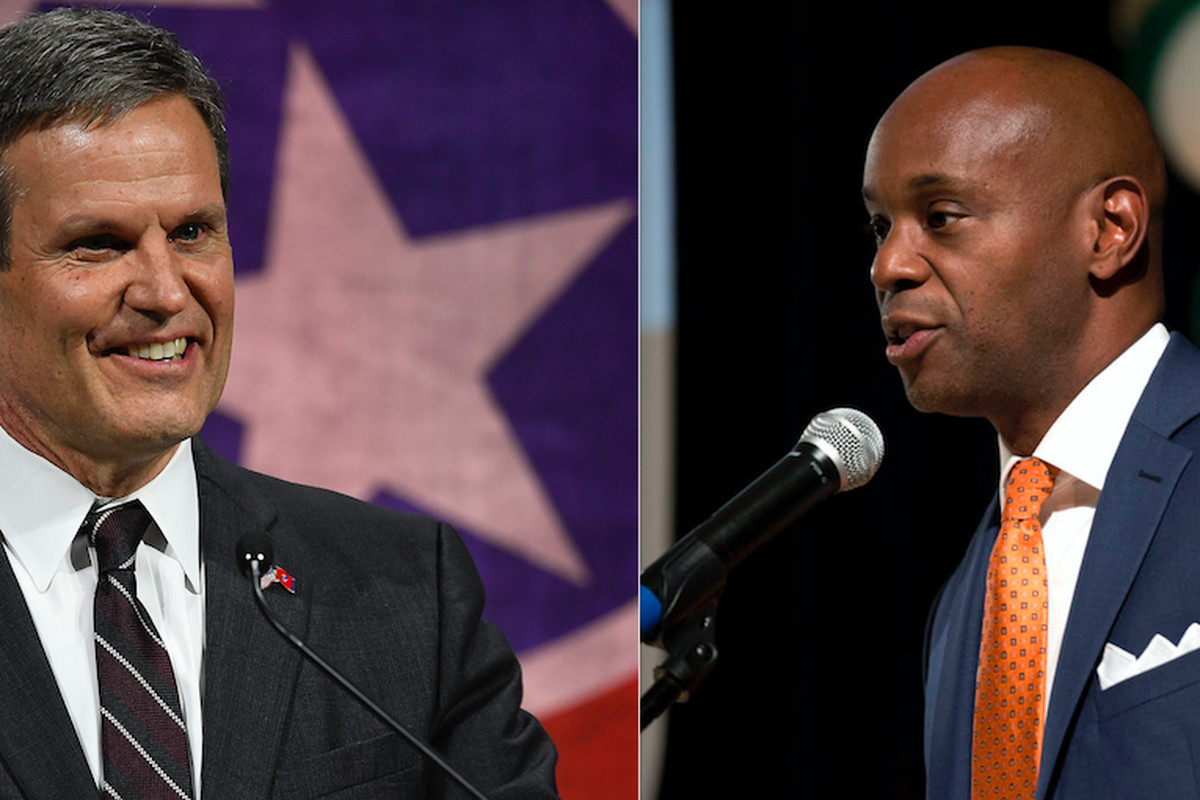 Superintendent Dorsey Hopson, right, has endorsed Bill Lee, the Republican nominee for governor.