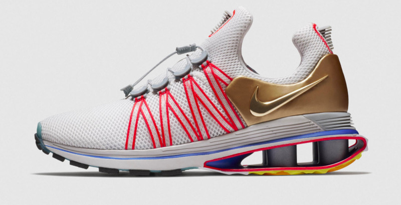 Nike Shox Gravity In Grey Hypebeast