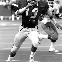 BYU head coach Bronco Mendenhall was a two-year starter at safety during his playing days at Oregon State.