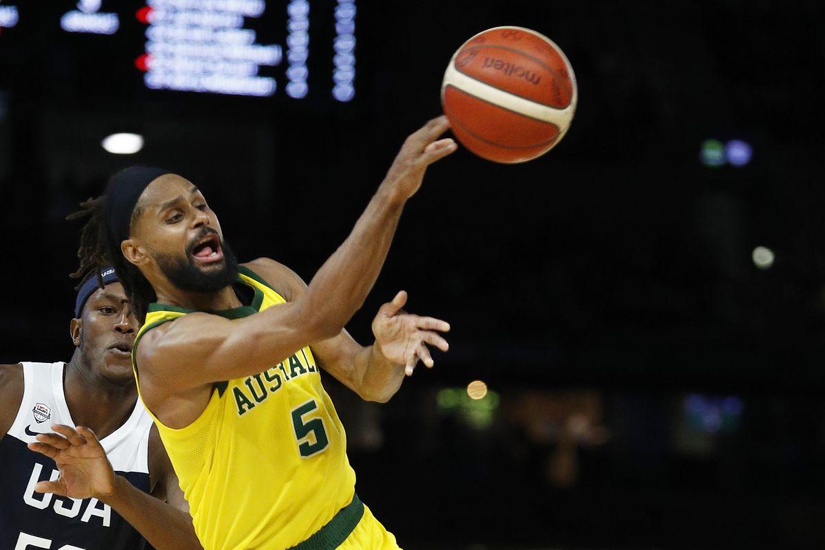 Australia v Team USA: Game 2