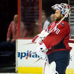 Holtby Watches Screen Above