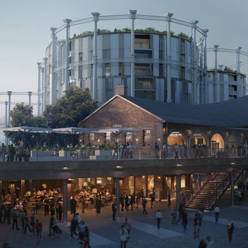 Coal Drops Yard, the new restaurant and lifestyle development at King's Cross