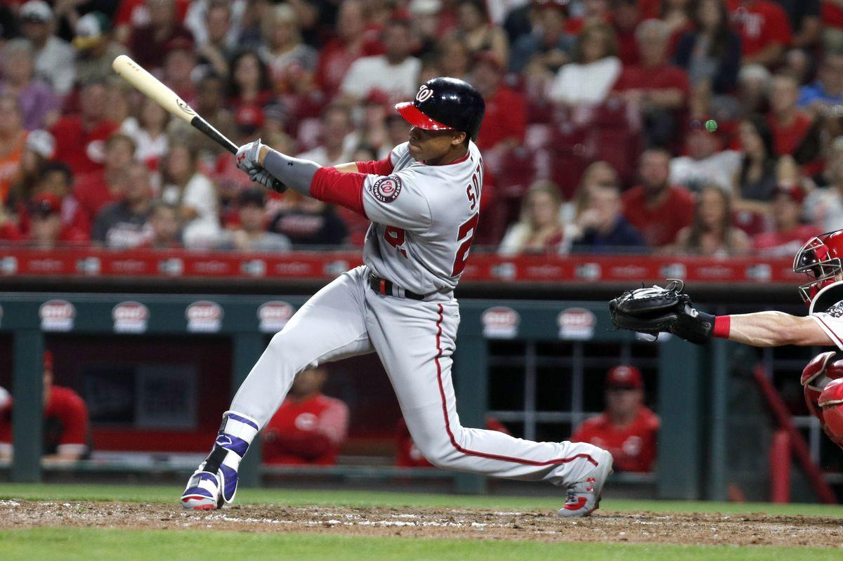 MLB: Washington Nationals at Cincinnati Reds
