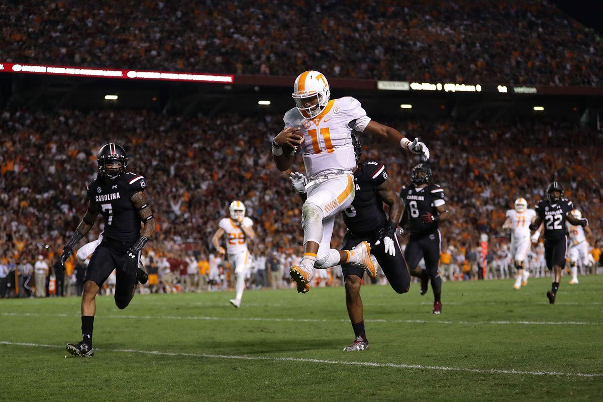 Tennessee QB Josh Dobbs
