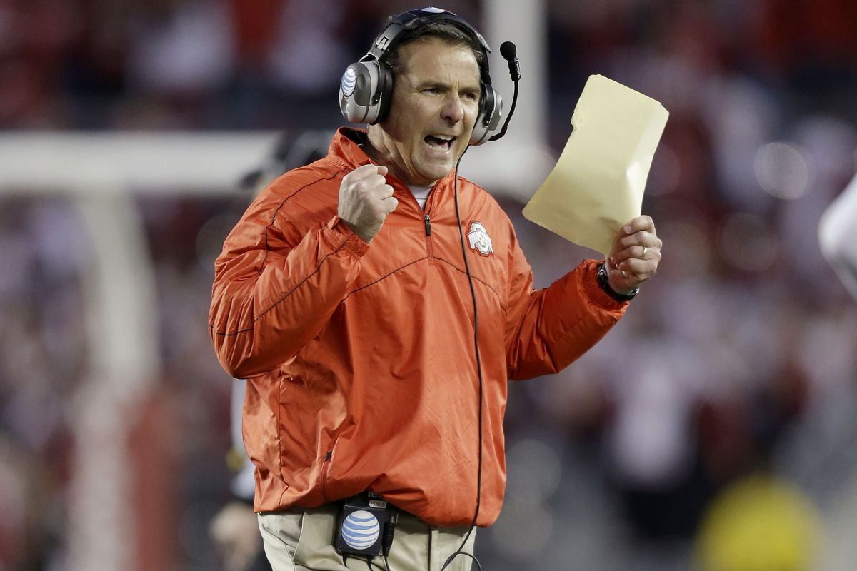 Urban Meyer is outraged at Ohio State's lack of respect in the BlogPoll Top 25.