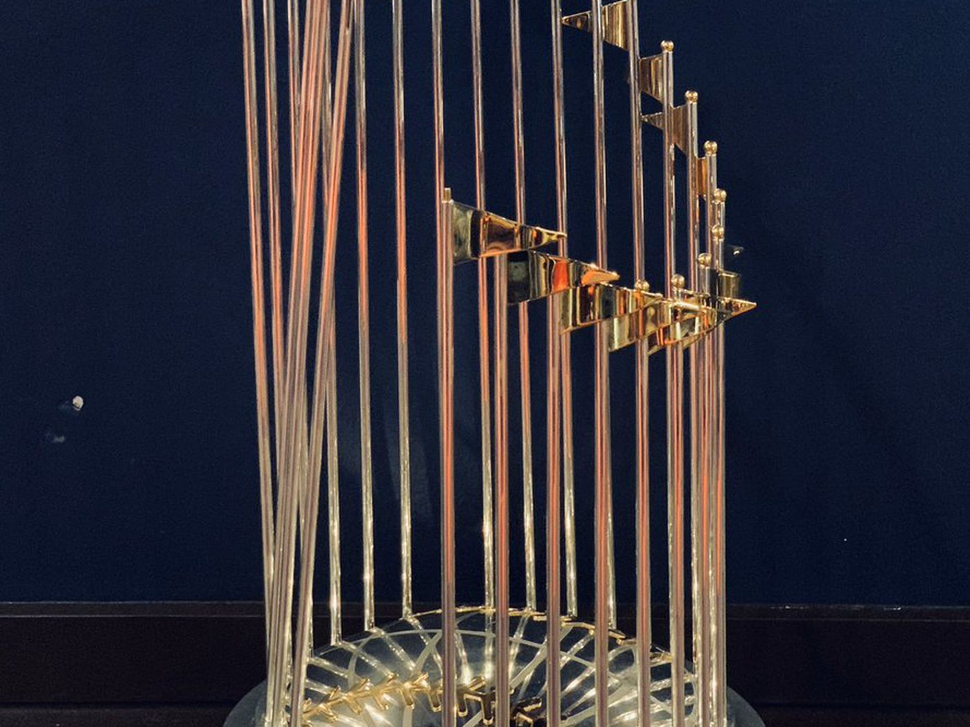 Nationals World Series Parade Will The Trophy Be Broken Sbnation Com