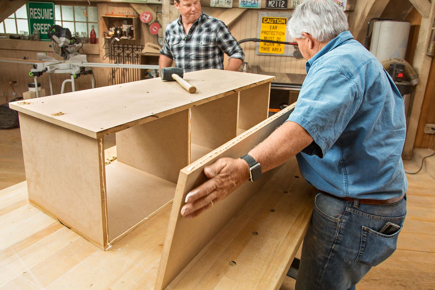 How To Build A Simple Mudroom Bench This Old House