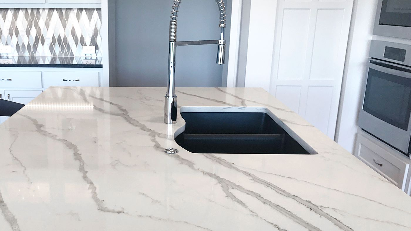 How To Paint A Faux Marble Countertop