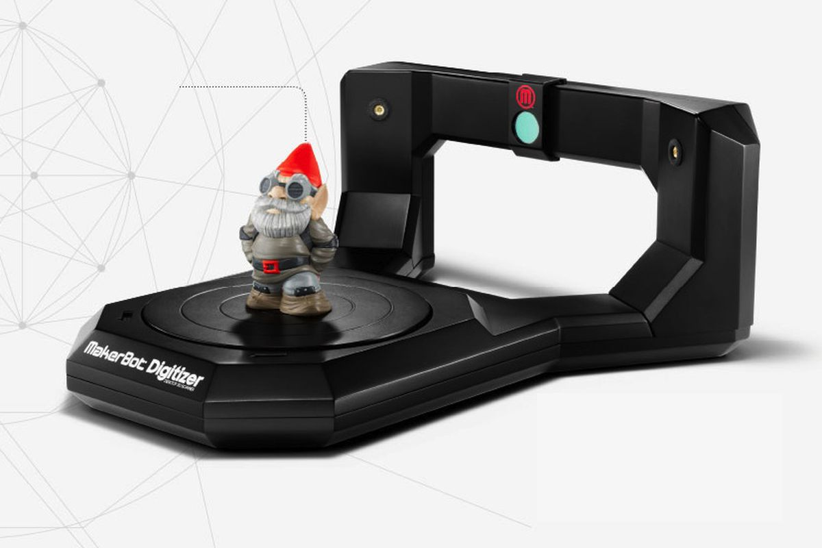Makerbot Digitizer Gnome