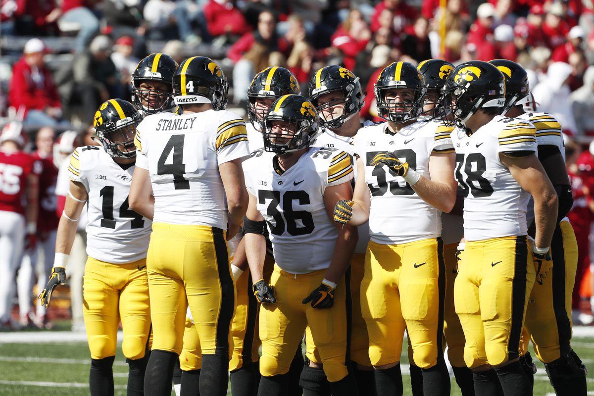 NCAA Football: Iowa at Indiana