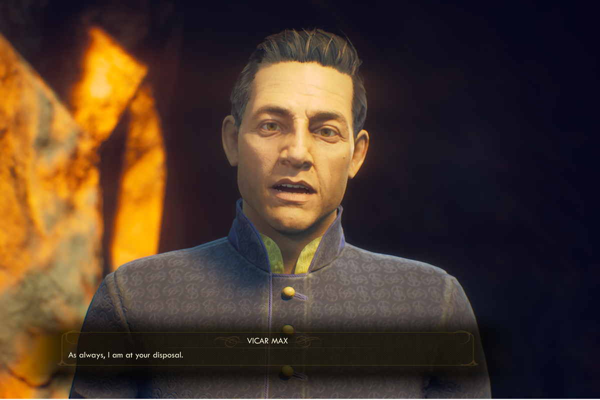 The Outer Worlds' daddy priest and disaster lad make me miss