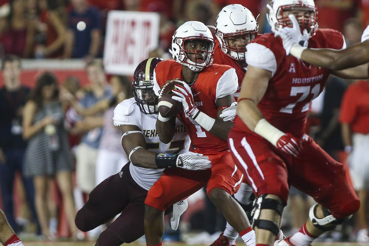 NCAA Football: Texas State at Houston