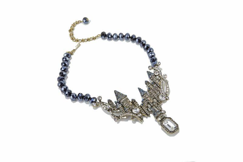 HSN Castle Necklace