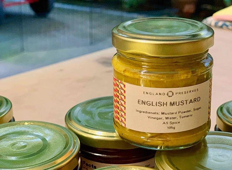 England Preserves mustard