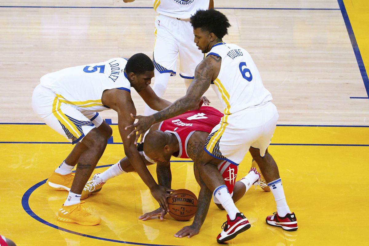 ca6908156c0 The Warriors have figured out a defense against the Rockets that works