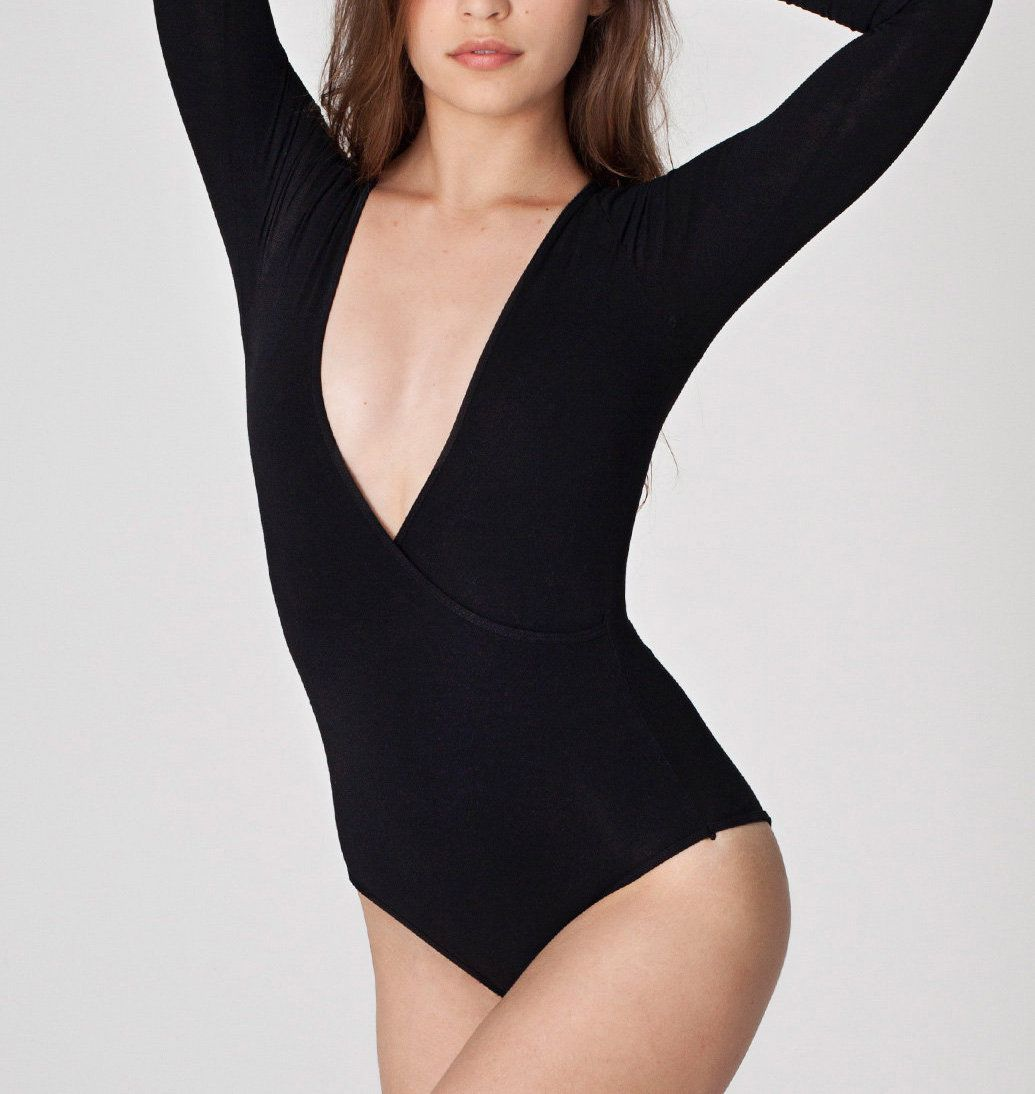 An American Apparel body suit