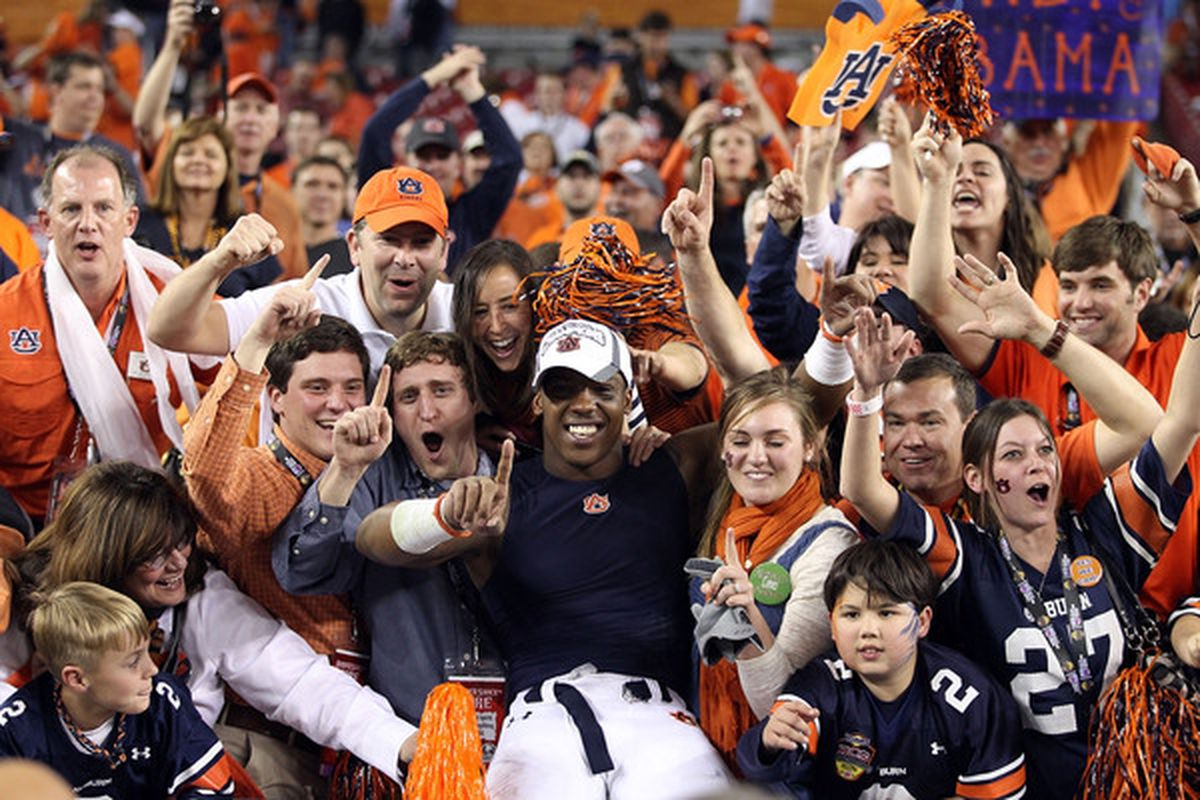 Enjoy it while you can, Auburn fans. (Photo by Christian Petersen/Getty Images)