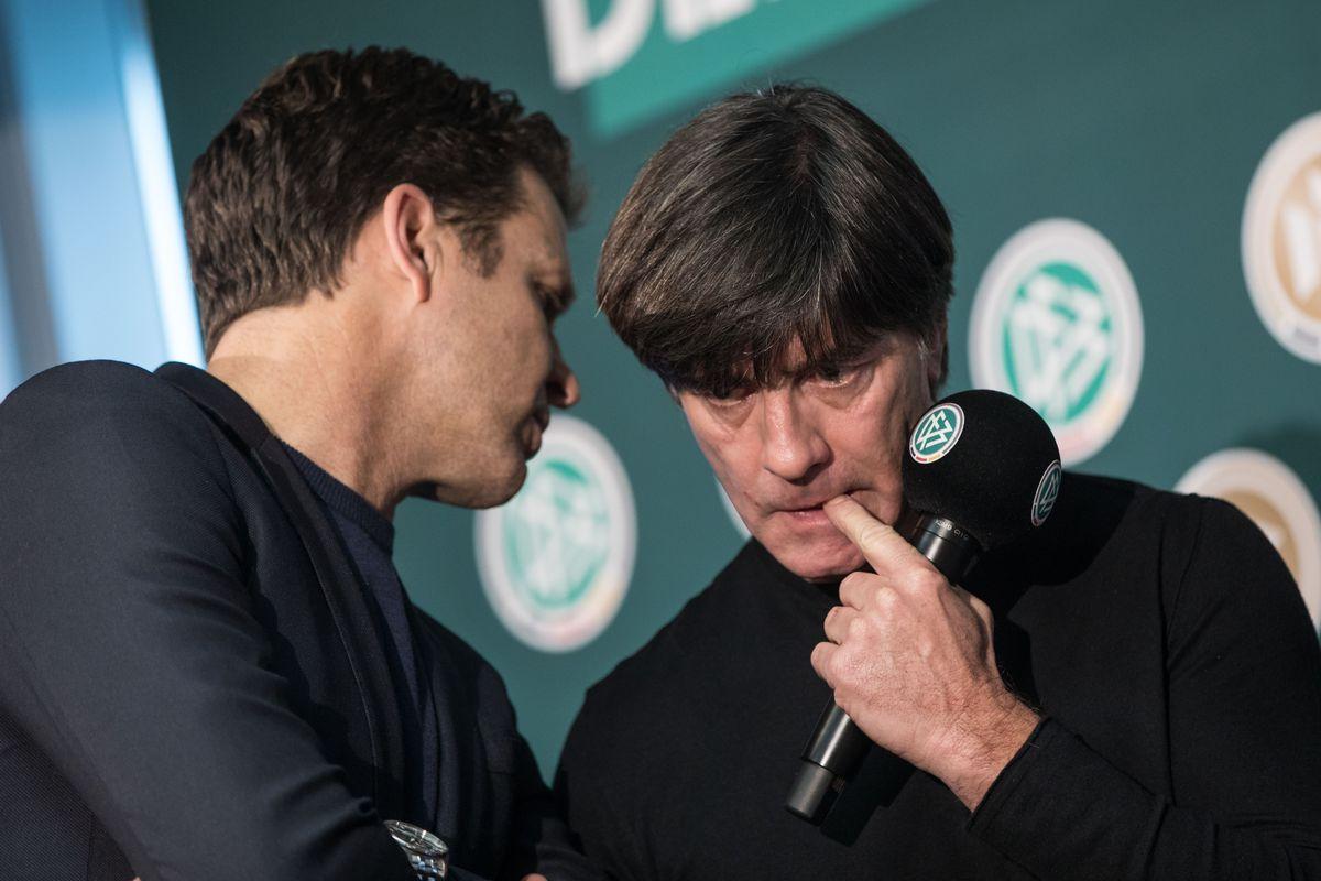 German Football Association press conference