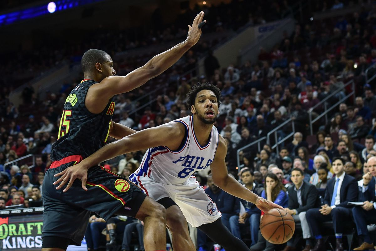 Jahlil Okafor has had his way with the Atlanta Hawks this season - we'll see if that continues tonight.