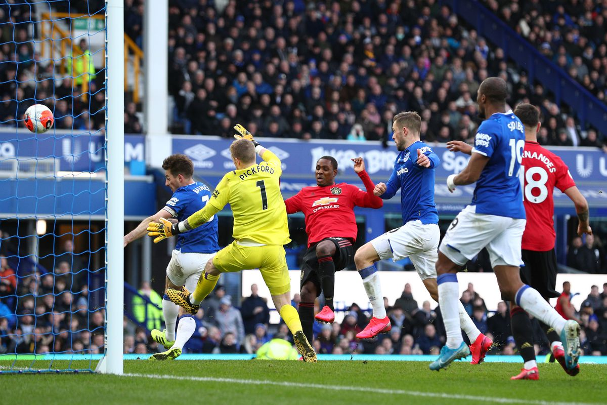 Everton 1 1 Manchester United Late Var Drama Results In A Draw Royal Blue Mersey