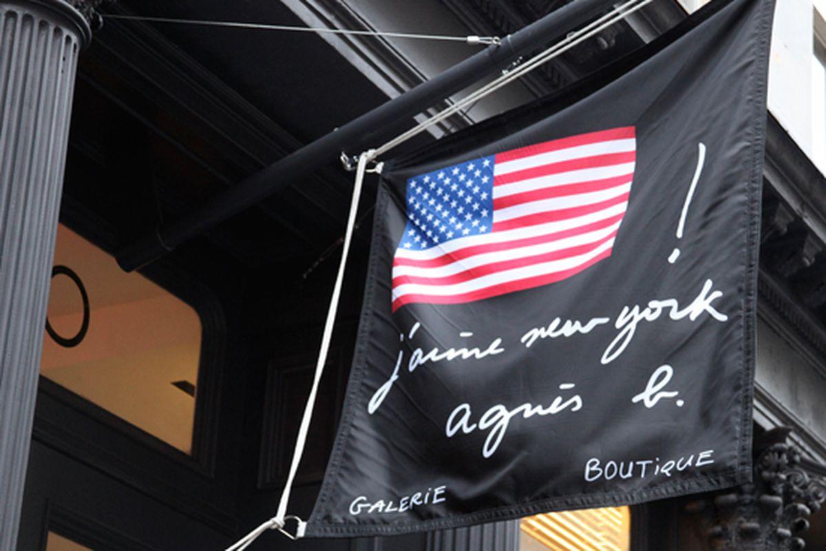 "Image via <a href=""http://hypebeast.com/2011/4/agnes-b-new-york-soho-store-opening-recap"">Hypebeast</a>"