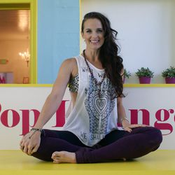"""<strong><a href=""""http://la.racked.com/archives/2014/08/18/hottest_trainer_contestant_12_amy_mcguire.php"""">Amy McGuire, Pop Physique</a></strong>: When it comes to motivational music, """"I find that songs with a strong 4/4 back beat and soul lead me to better"""