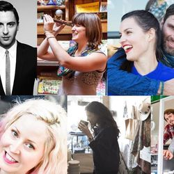 Just a few of the interesting people we met in 2014.