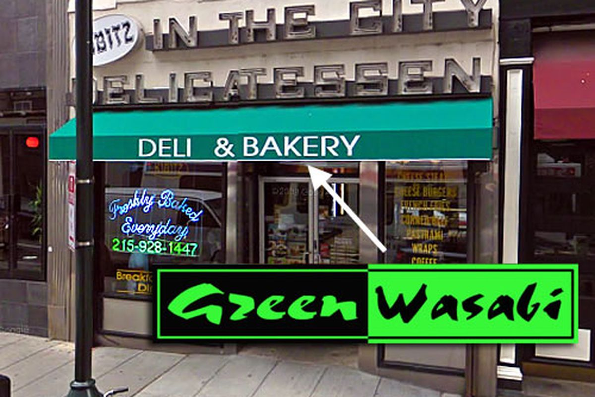 Green Wasabi is taking over Delicatessen