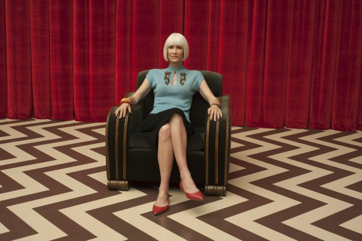 Laura Dern in Twin Peaks: The Return