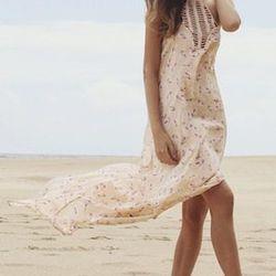 "Positano Long Slit Dress, <a href=""http://www.nicdelmar.com/acacia-positano.html"">Acacia</a>, $198"