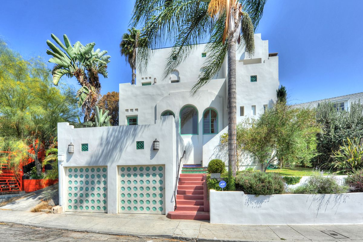 Spanish-Moorish-style house in Silver Lake available to rent - Curbed LA