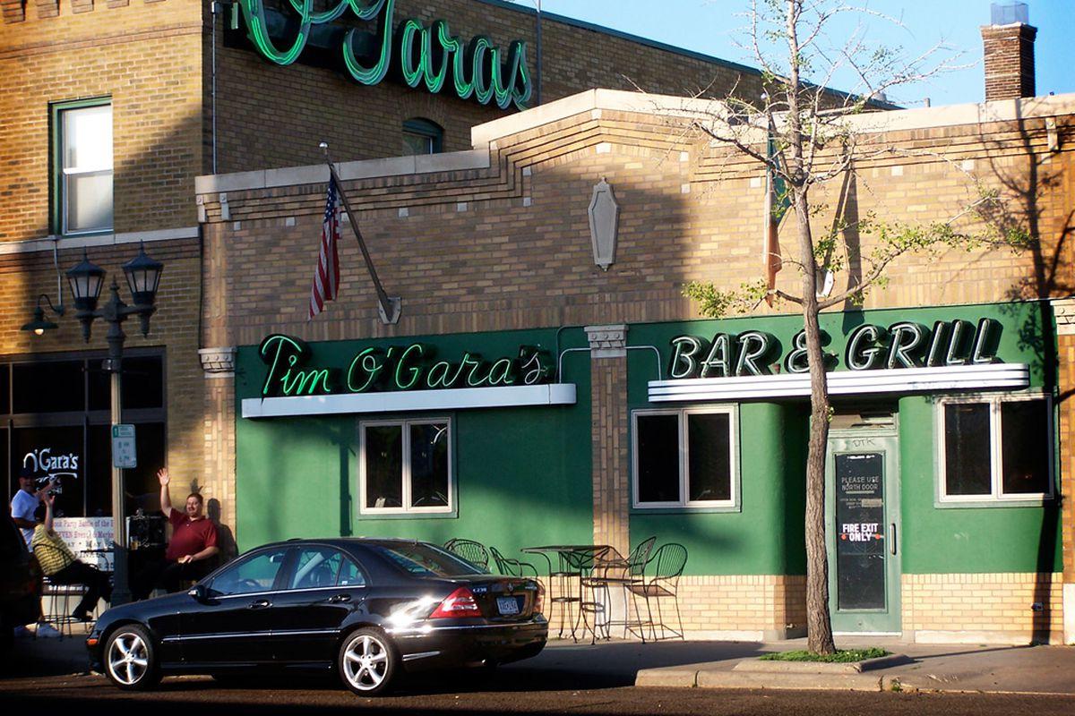 The exterior of the now demolished O'Gara's