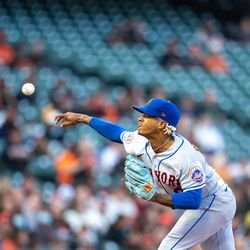 Marcus Stroman, Mets starting pitcher on Thursday