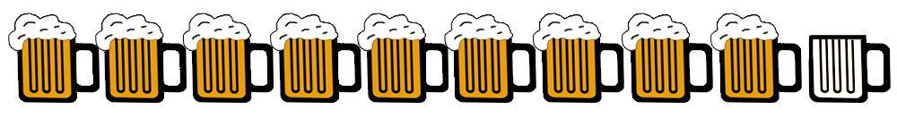 9 beers