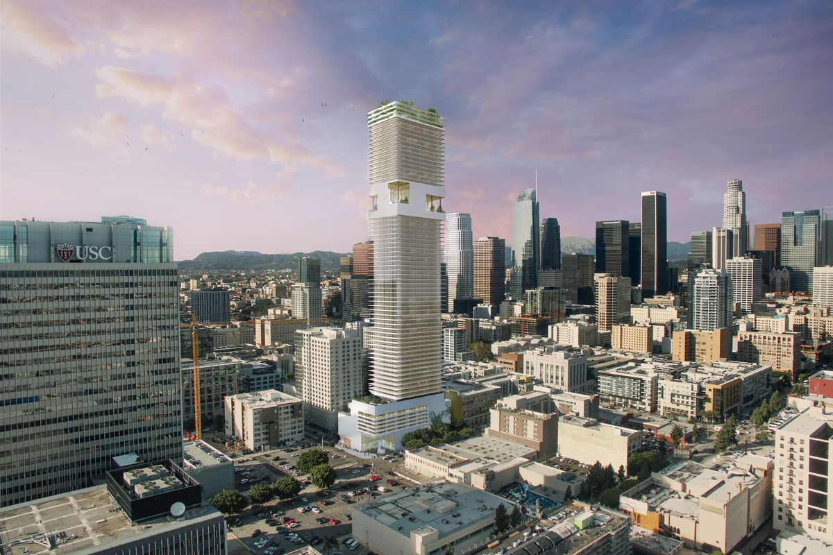 Developer Crescent Heights files plans for 70-story skyscraper at 1045 Olive