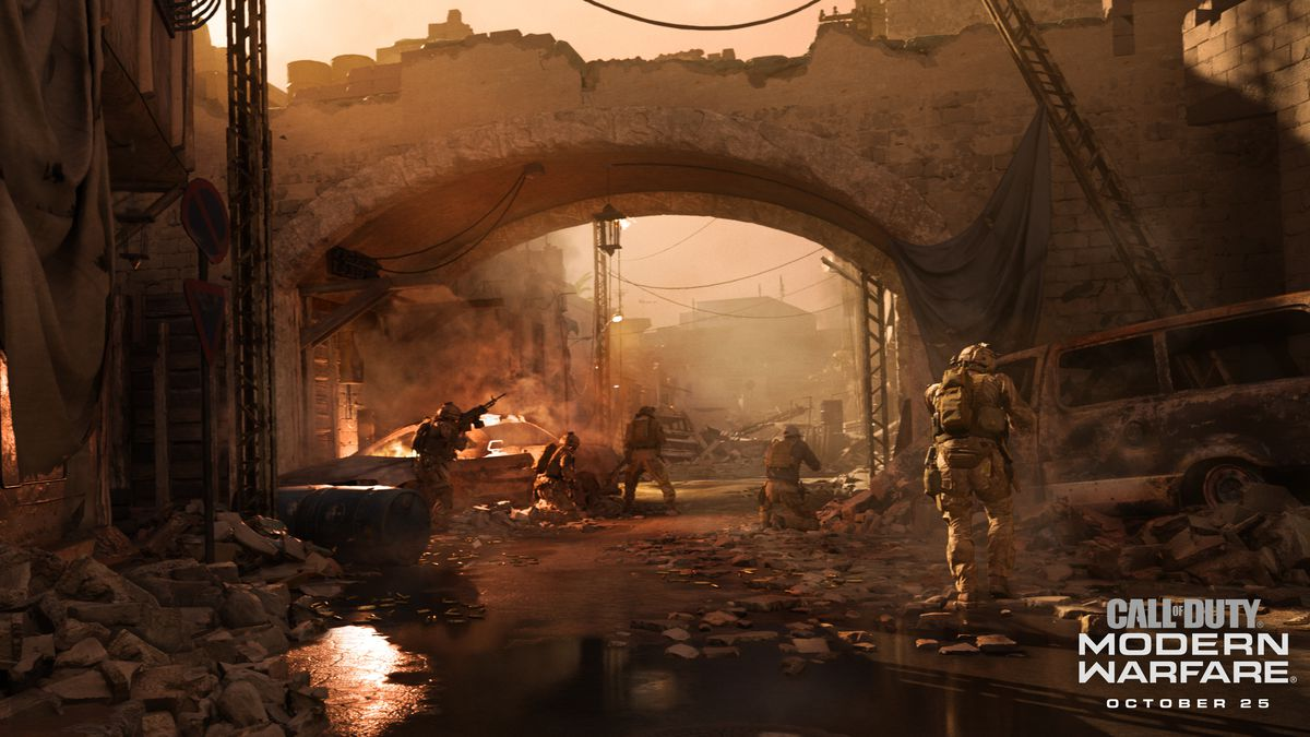 Call of Duty: Modern Warfare is a realistic reboot designed