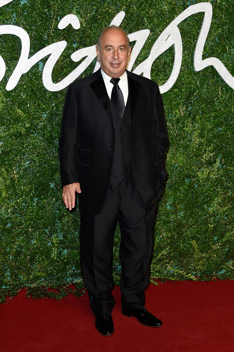 GettyImages_459801194 Topshop billionaire Philip Green is at the center of a #MeToo scandal
