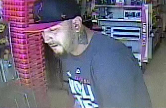 Surveillance image of a man wanted for using a credit card stolen from an elderly woman in the Joliet area in September. | Joliet police