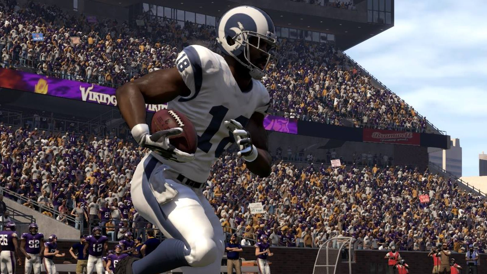 Los Angeles Rams Move Means Madden S Stadium Builders