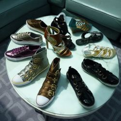A new casuals collection of flats and kicks