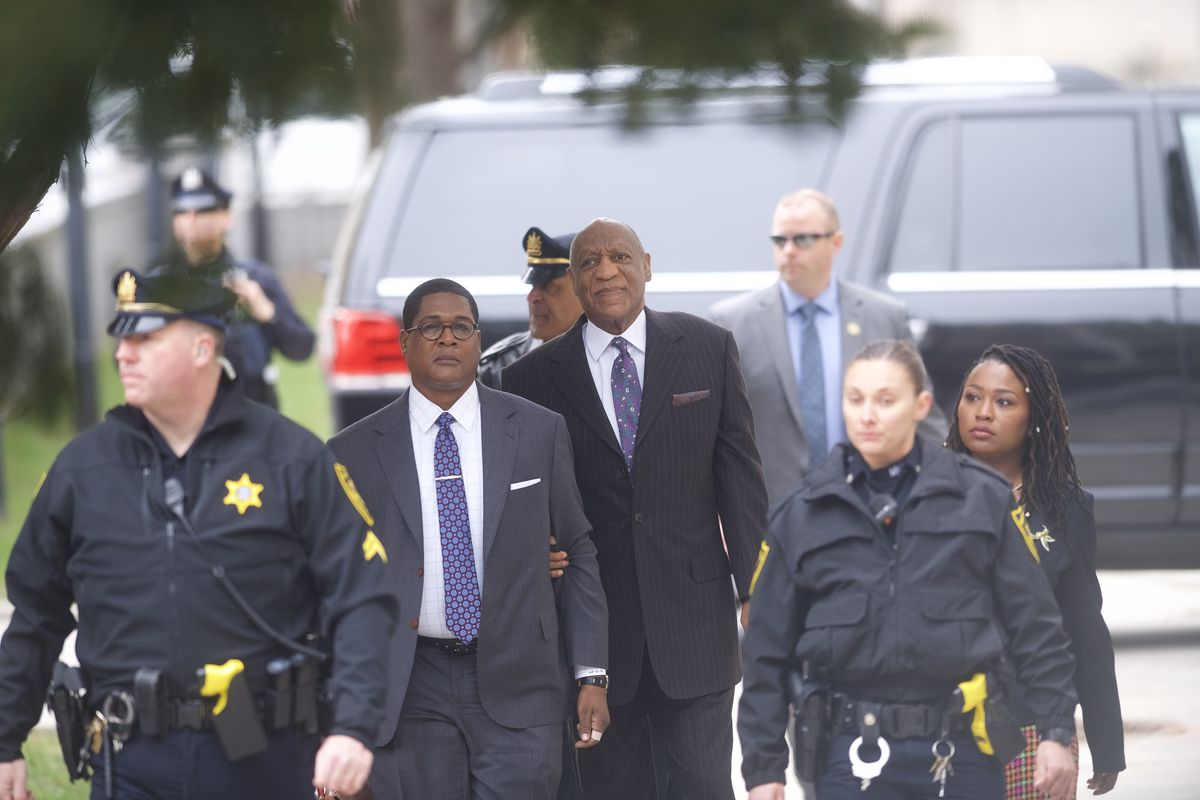 Accuser calls Bill Cosby a 'serial rapist' on witness stand