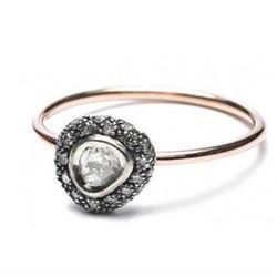"<b>Bibi van der Velden</b> <a href=""http://www.bibivandervelden.com/Shop/Fine-Jewelry-Collection/Polky-diamond-ring.html"">Polky Diamond Ring</a>, $1,277"
