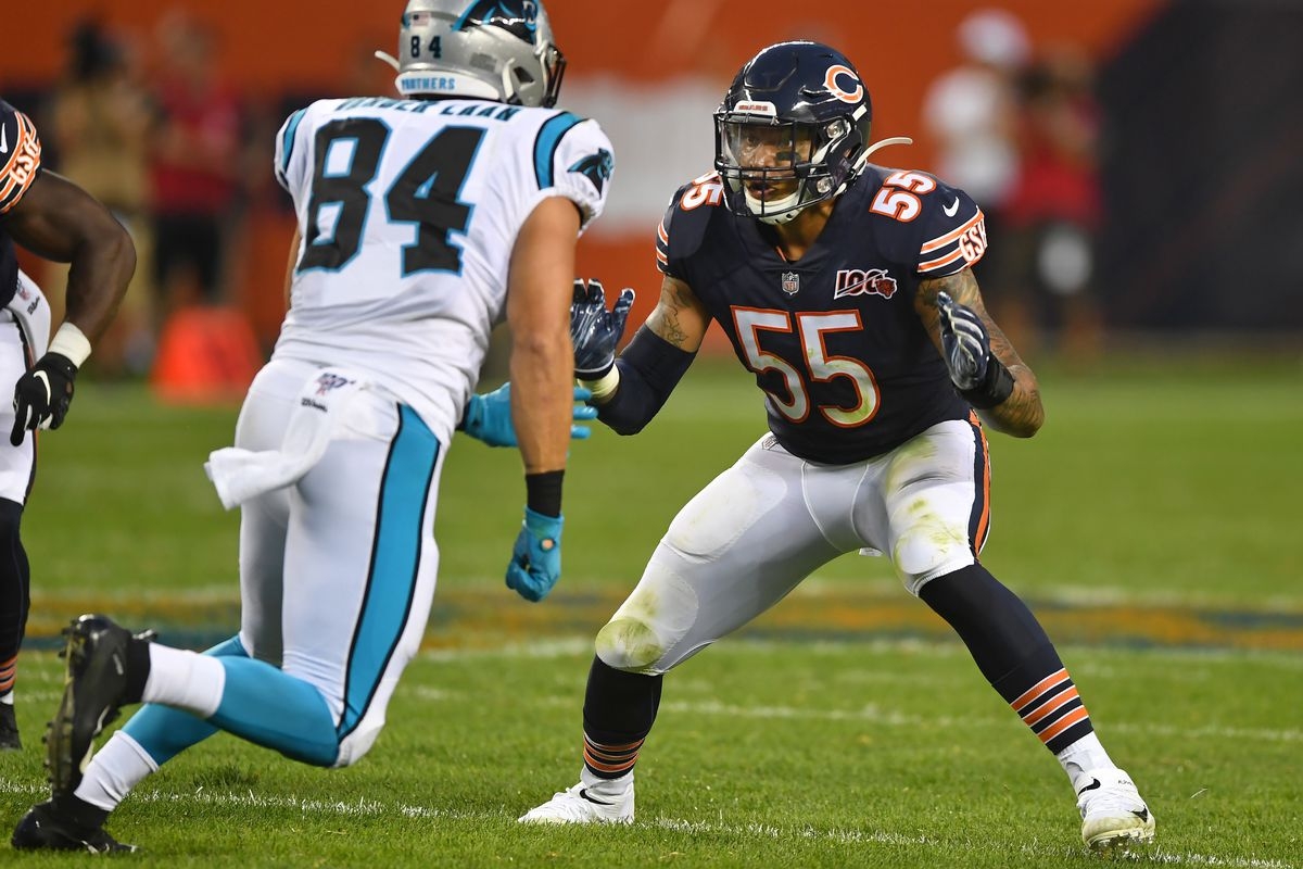 Player to watch: Bears' LB Josh Woods getting the hang of it