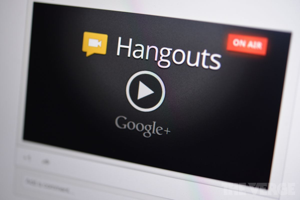 Google+ Hangouts on Air Stock