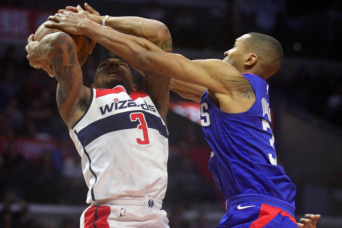 NBA: Washington Wizards at Los Angeles Clippers