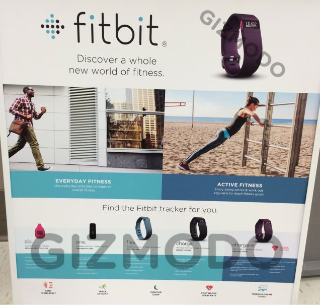 Fitbit Charge Gizmodo